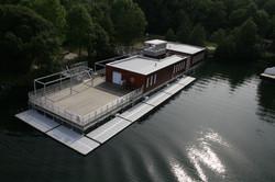 Structures flottantes bois et métal