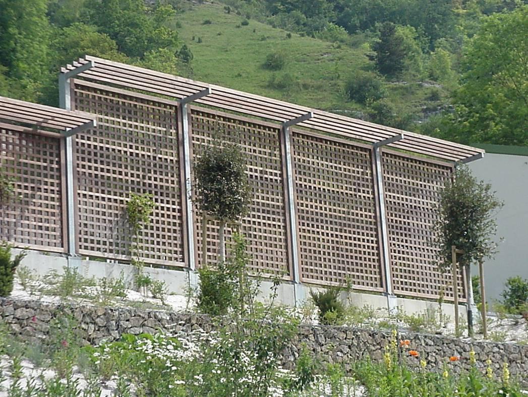 Claustras & Murs anti-bruit bois