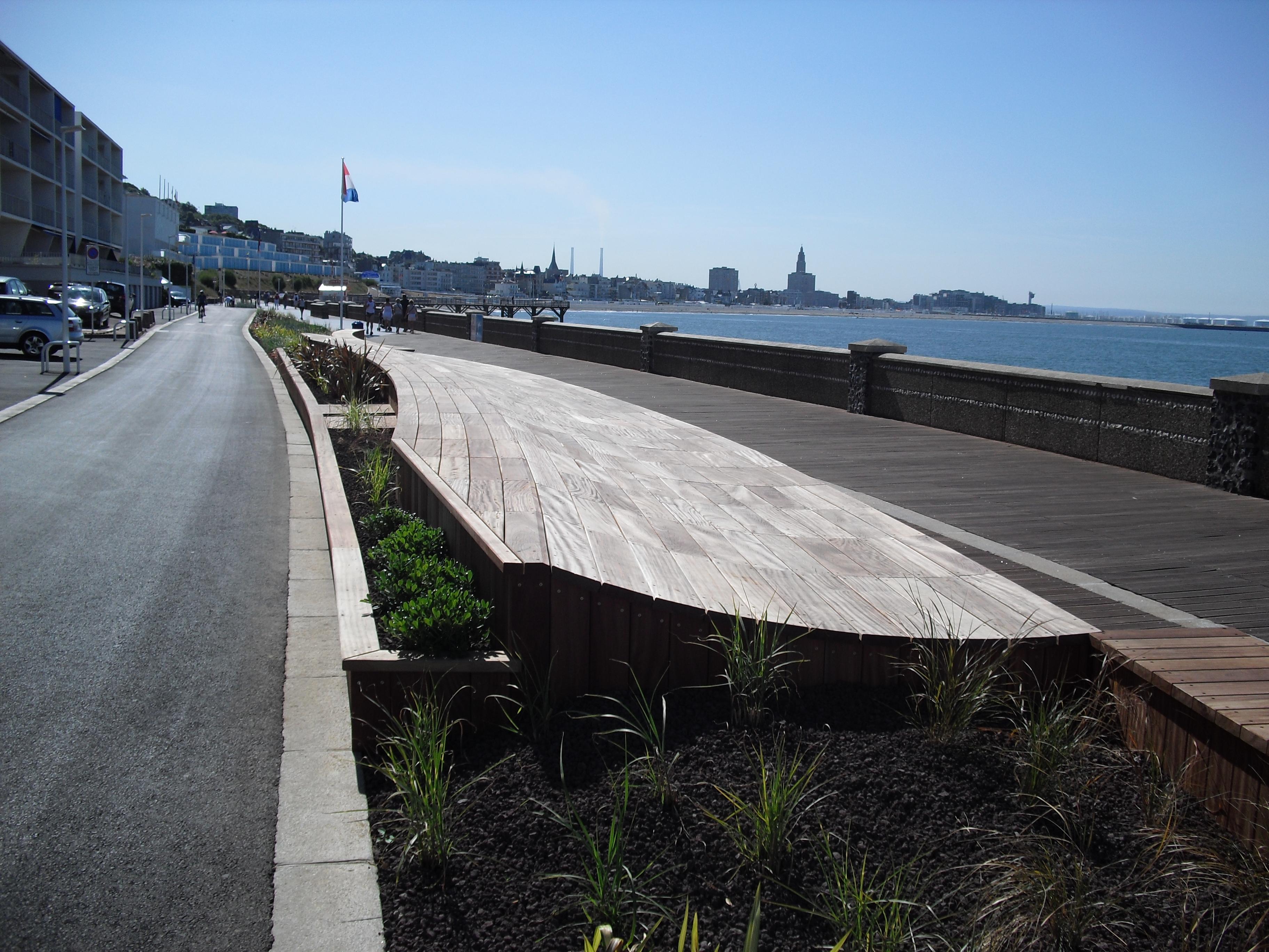 SAINTE ADRESSE - Promenade Plage