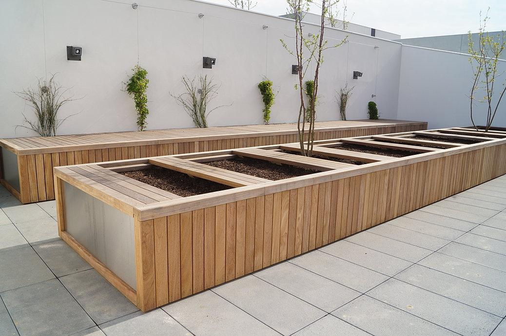 mobiliers urbains en bois ou mixte m tal bois b ton pierre. Black Bedroom Furniture Sets. Home Design Ideas