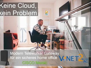 Home Office - Keine Cloud, kein Problem