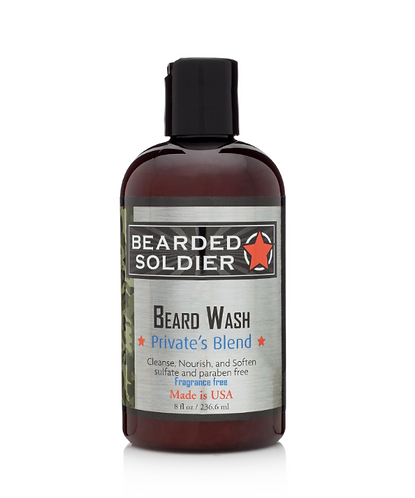 Private's Blend Beard Wash  8 oz.