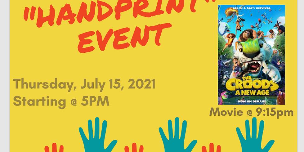 Community Handprint Event