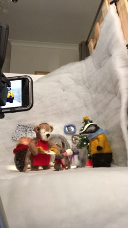 FILMING Animating Mr Bear's Party.mov