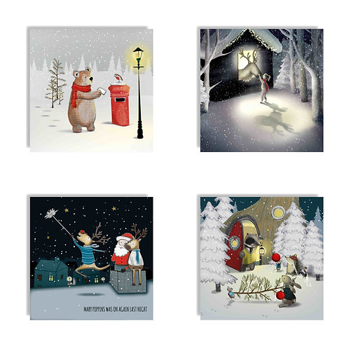 2019 Christmas Card Multipack One