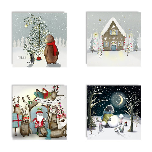 2020 Christmas Card Pack One