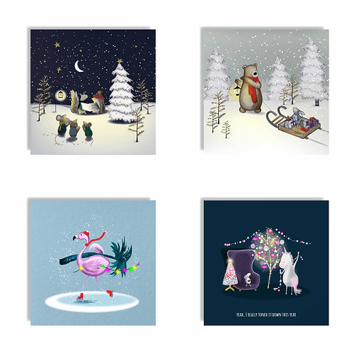2019 Christmas Card Multipack Two