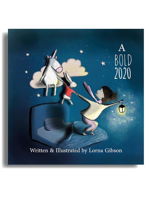 A Bold 2020 MinibookCard