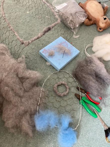 SET CREATION making mr bear's house - ch