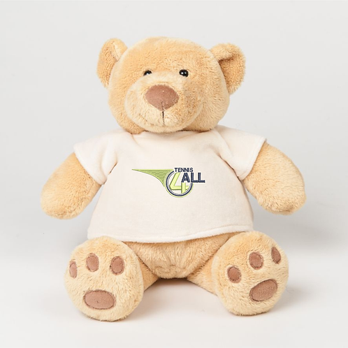 Tennis 4 All Teddy Bear