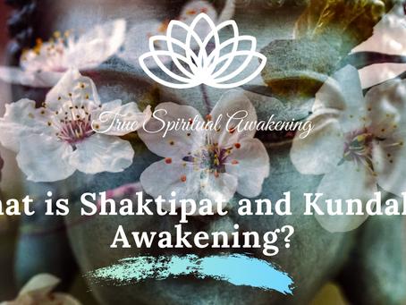 What is Shaktipat and Kundalini Awakening