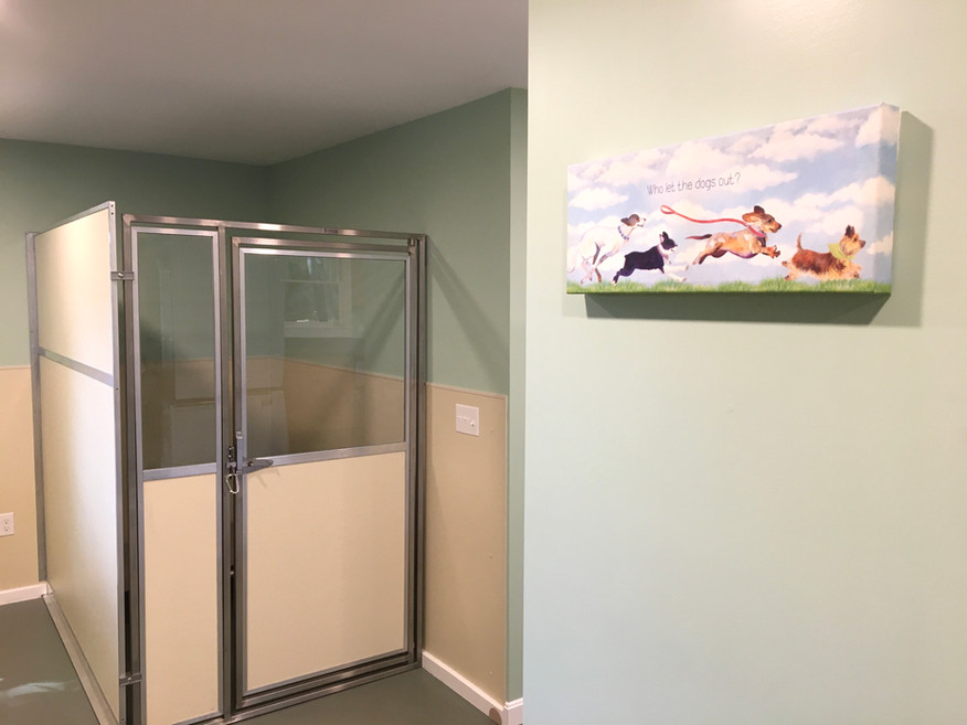 Kennel Suite & Artwork
