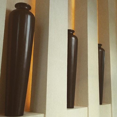 Vasos em Fibra feitos sob medida
