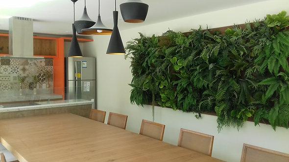Quadro de plantas permanentes