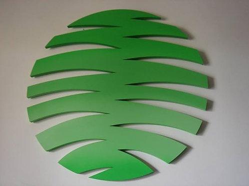 SD 001 - Escultura - Folha Tropical