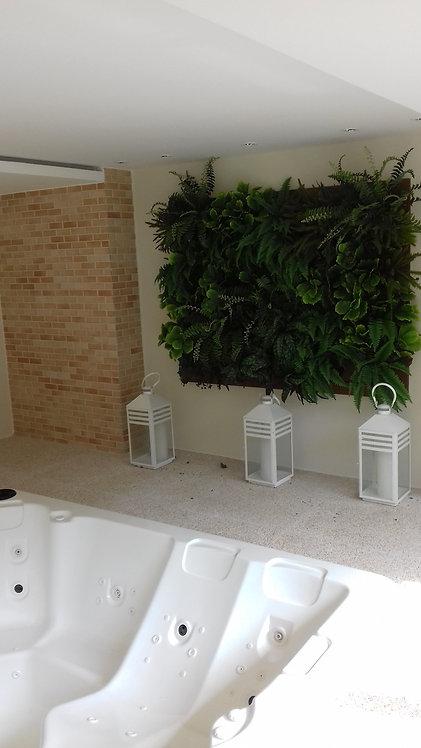 Quadro de plantas permanentes para SPA