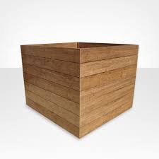 SD 110 - Vaso em madeira