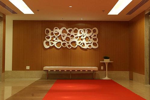 Escultura orgânica de parede