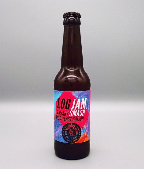Log Jam Smash Wild Saison 6.8% 330ml bottle