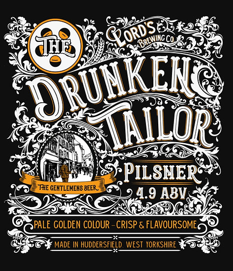 1 X The Drunken Tailor 330ML CAN