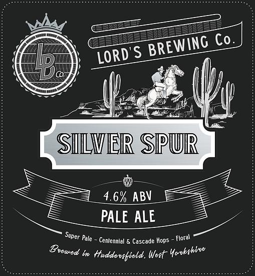 Silver Spur Ultra Pale 4.6% 9G Cask