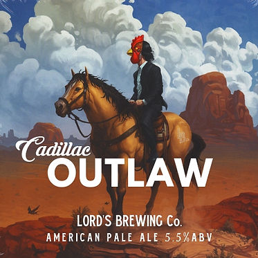 Cadillac Outlaw American Pale