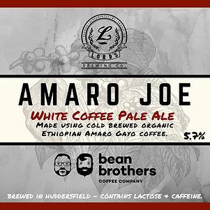 Amaro Joe White Coffee Pale