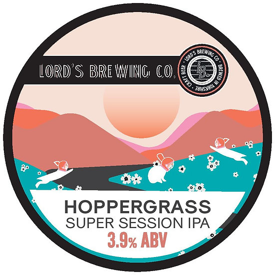 5L Hoppergrass Super Session IPA 3.9% ABV