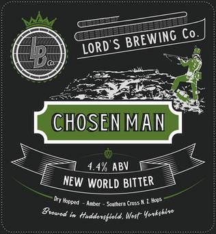 Chosen Man New World Bitter 4.4%