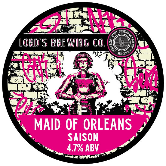 5l Maid of Orleans Saison 4.7% ABV
