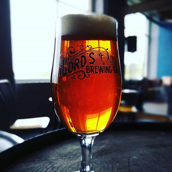 Lord's Brewing Co Glass