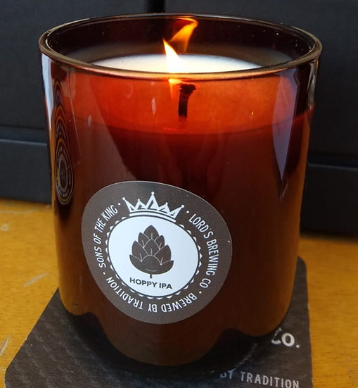 Lord's Brewing Hoppy IPA Candle