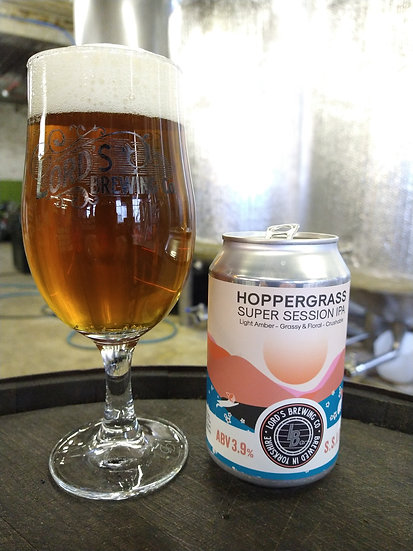 1X Hoppergrass Super Session IPA 3.9 330ML