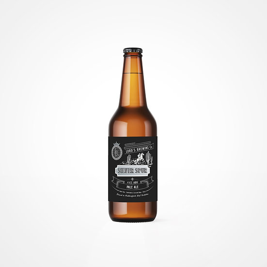 12 X Silver Spur Ultra Pale 4.7% 500ml Bottle