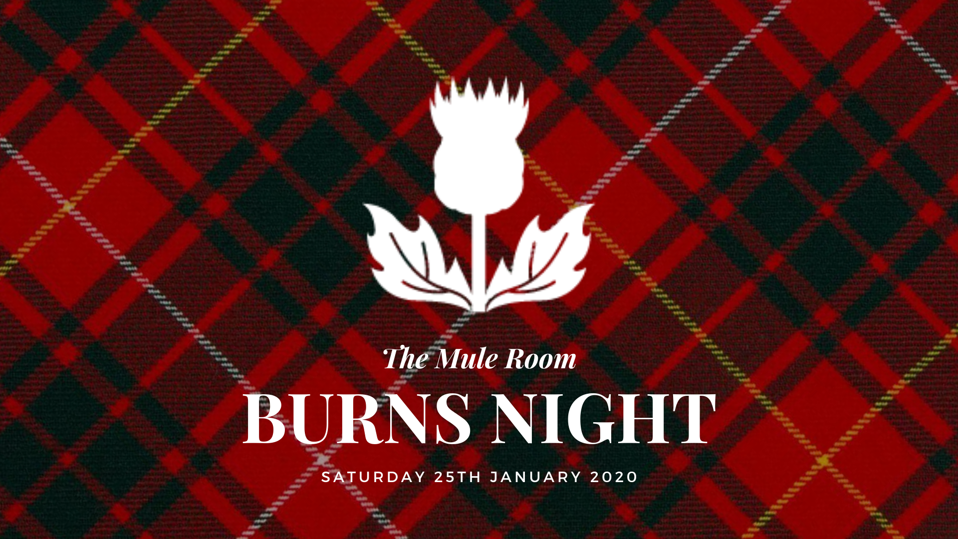 Burns Night at the Brewery!