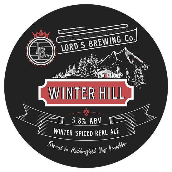 Winter Hill Spiced Ale 5.8% ABV