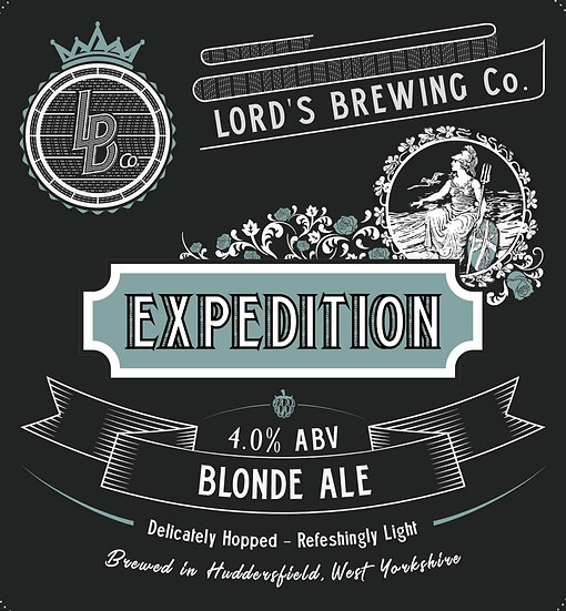 Expedition Blonde 4.0% ABV 9G Cask