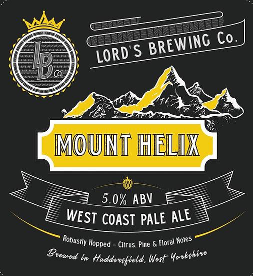 Mount Helix West Coast Pale Ale 9G Cask