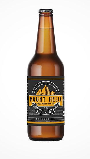 1 X Mount Helix West Coast Pale Ale 500ML Bottle