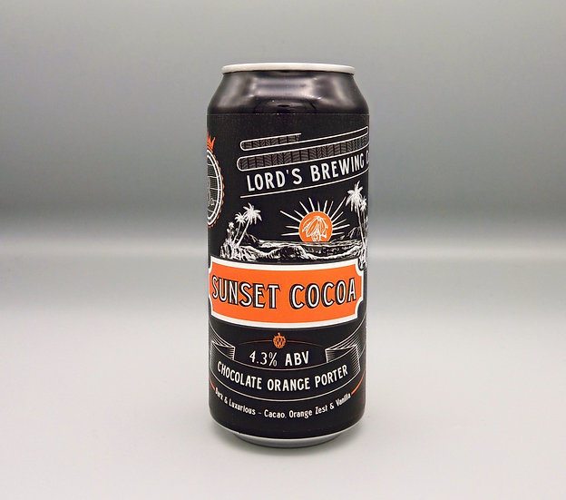 1 X Sunset Cocoa Choc Orange Porter 440ml Can
