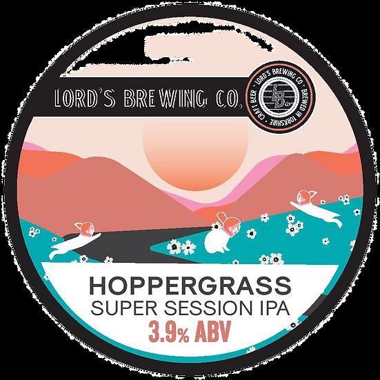Hoppergrass SSIPA 3.9% ABV 12L POLYKEG SANKEY