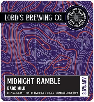 Midnight Ramble- Pump Clip - Design File