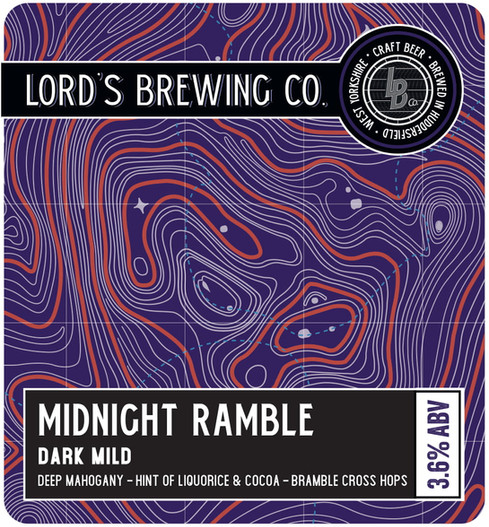 Midnight Ramble- Pump Clip - Design File