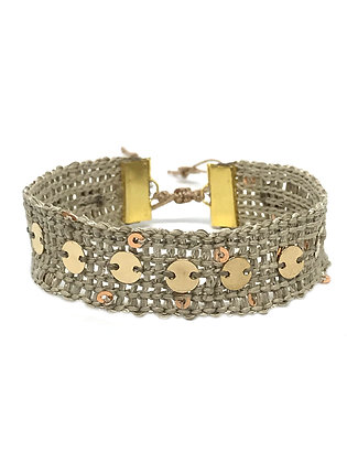 "Bracelet Manchette ""CERCLE"""