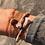 """Thumbnail: Bracelet triple ou Collier Chaîne """"DOUBLE"""" en 5 couleurs"""
