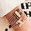 "Thumbnail: Bracelet ressort ""TITA"" 4 bracelets en 1"