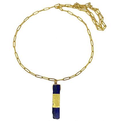 """Sautoir Lapis Lazuli """"VIOLA"""""""