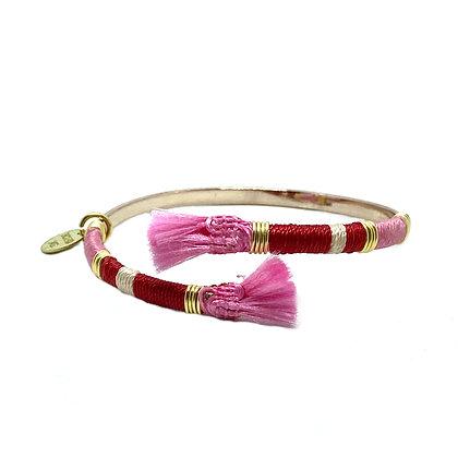"""Bracelet Jonc """"MAYA"""" en 4 couleurs"""