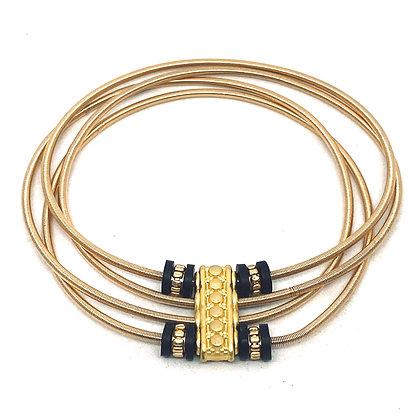 "Bracelet ressort ""TITA"" 4 bracelets en 1"
