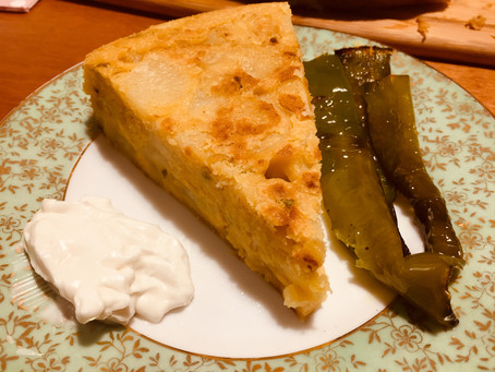 Tortilla de Batatas e Maionese (para 6 pessoas)